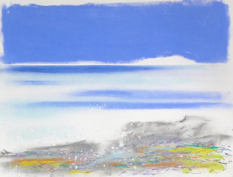 July 3/ Shoreline colours
