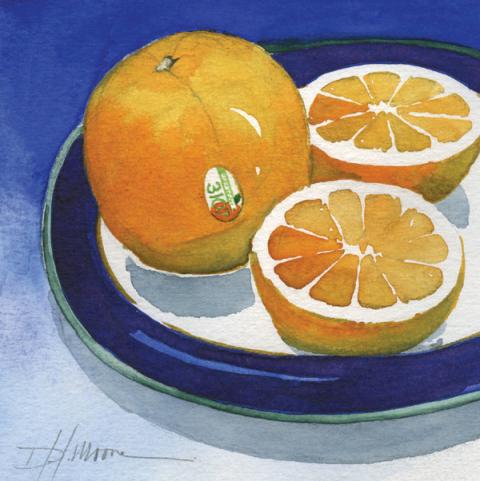 Oranges and Blue